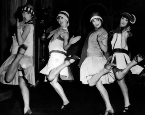 Flappers of the 1920's - Home